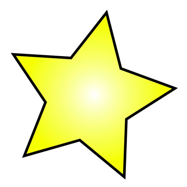 free star outline