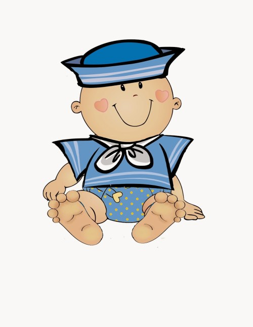 small resolution of baby boy clipart