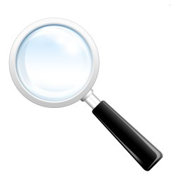 search icon psd magnifying glass psdgraphics [ 1280 x 1024 Pixel ]