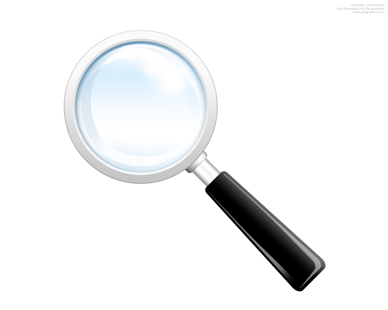 hight resolution of search icon psd magnifying glass psdgraphics