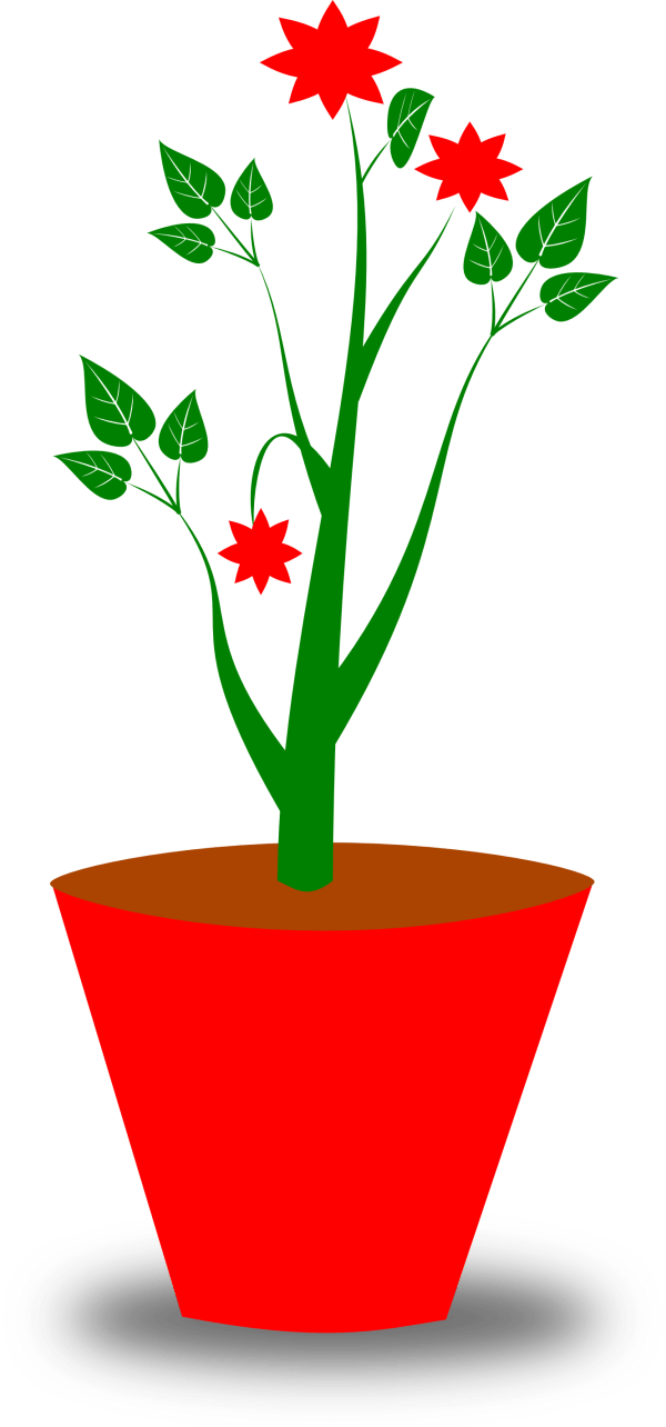 free flower pot clipart