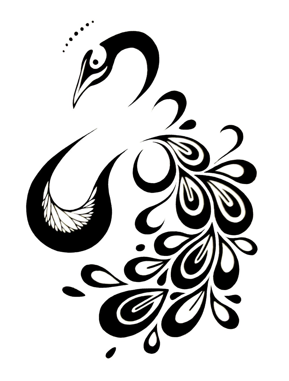 medium resolution of peacock tattoo design imgur