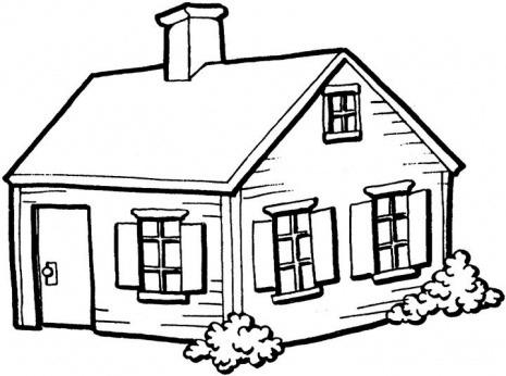 Free House Line Art, Download Free Clip Art, Free Clip Art