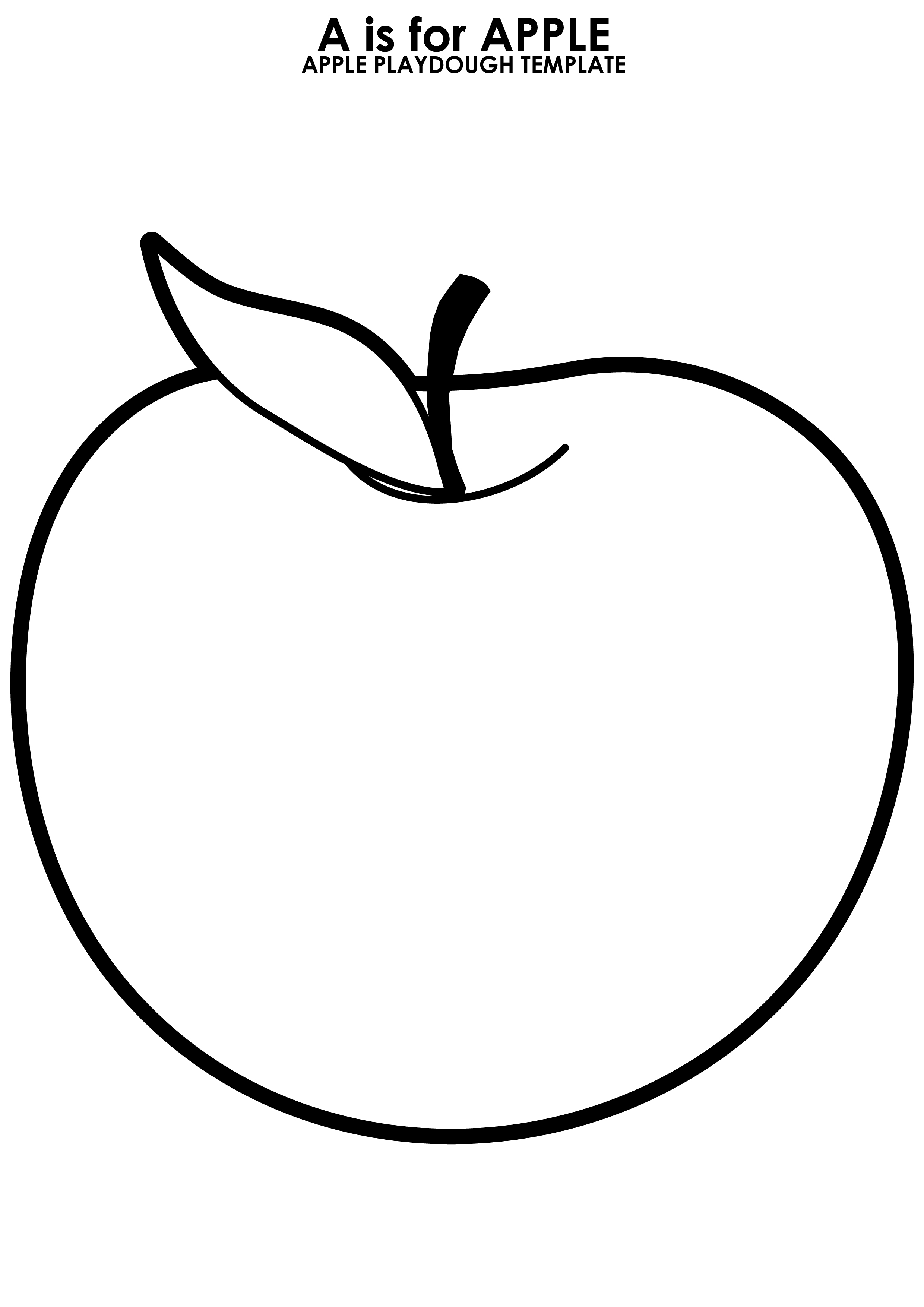 Free Apple Template, Download Free Clip Art, Free Clip Art