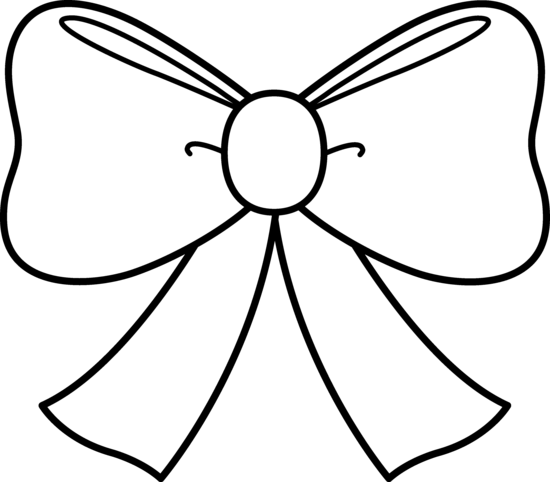 free bow outline