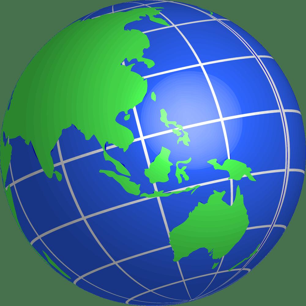 medium resolution of clipart oceania world globe