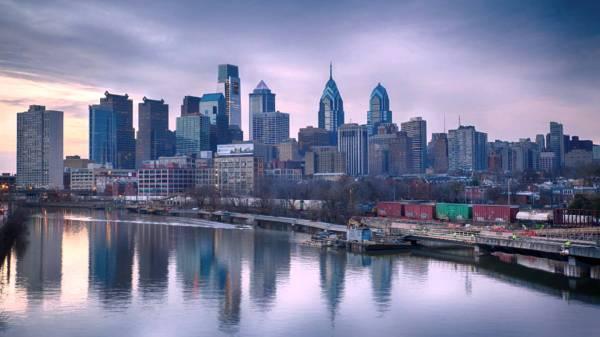 Philadelphia Skyline Free Clip Art Clipart Library