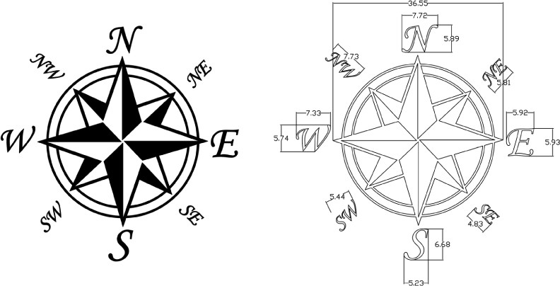 Free Compass Rose Template, Download Free Clip Art, Free