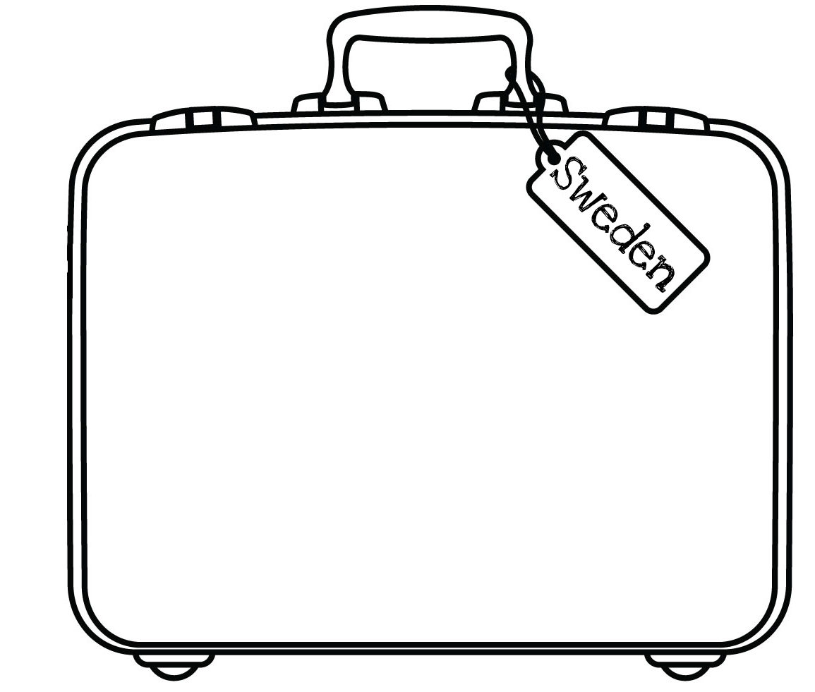 Free Suitcase Coloring Page Download Free Clip Art Free Clip Art On Clipart Library