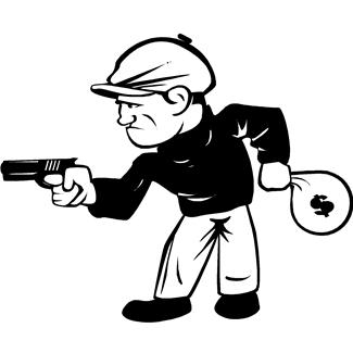 Free Robbers, Download Free Clip Art, Free Clip Art on