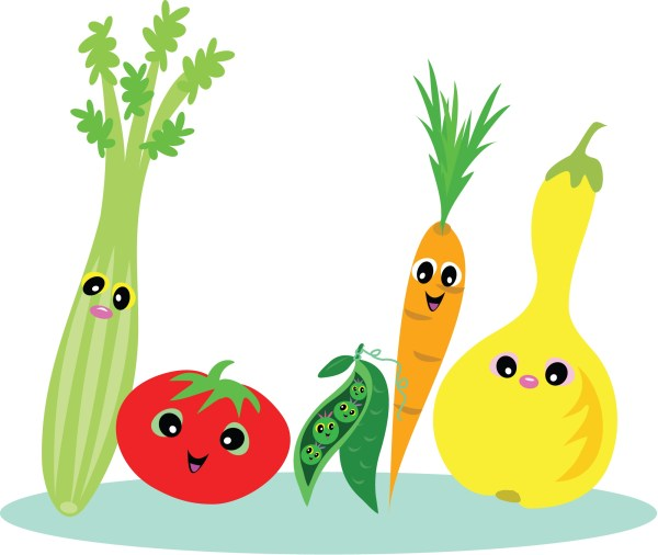 Healthy Food Cartoon Clip Art