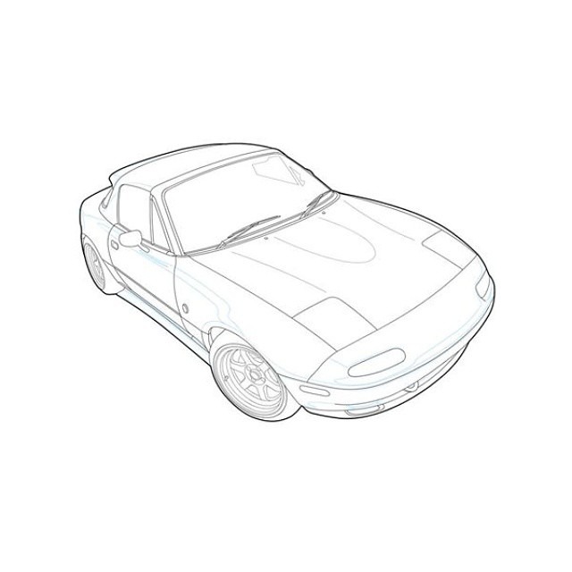 Free Outline Drawing Of Drift Cars, Download Free Clip Art