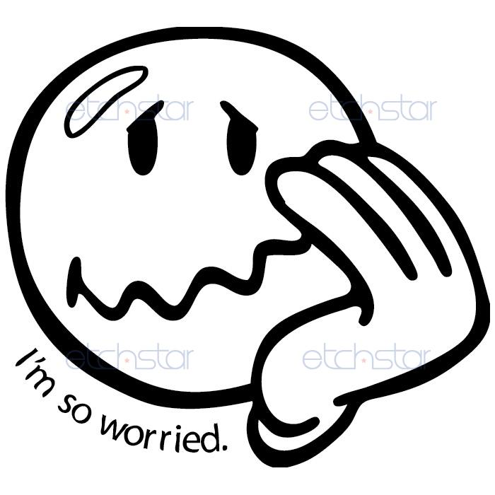 Free Worried Smiley Face, Download Free Clip Art, Free