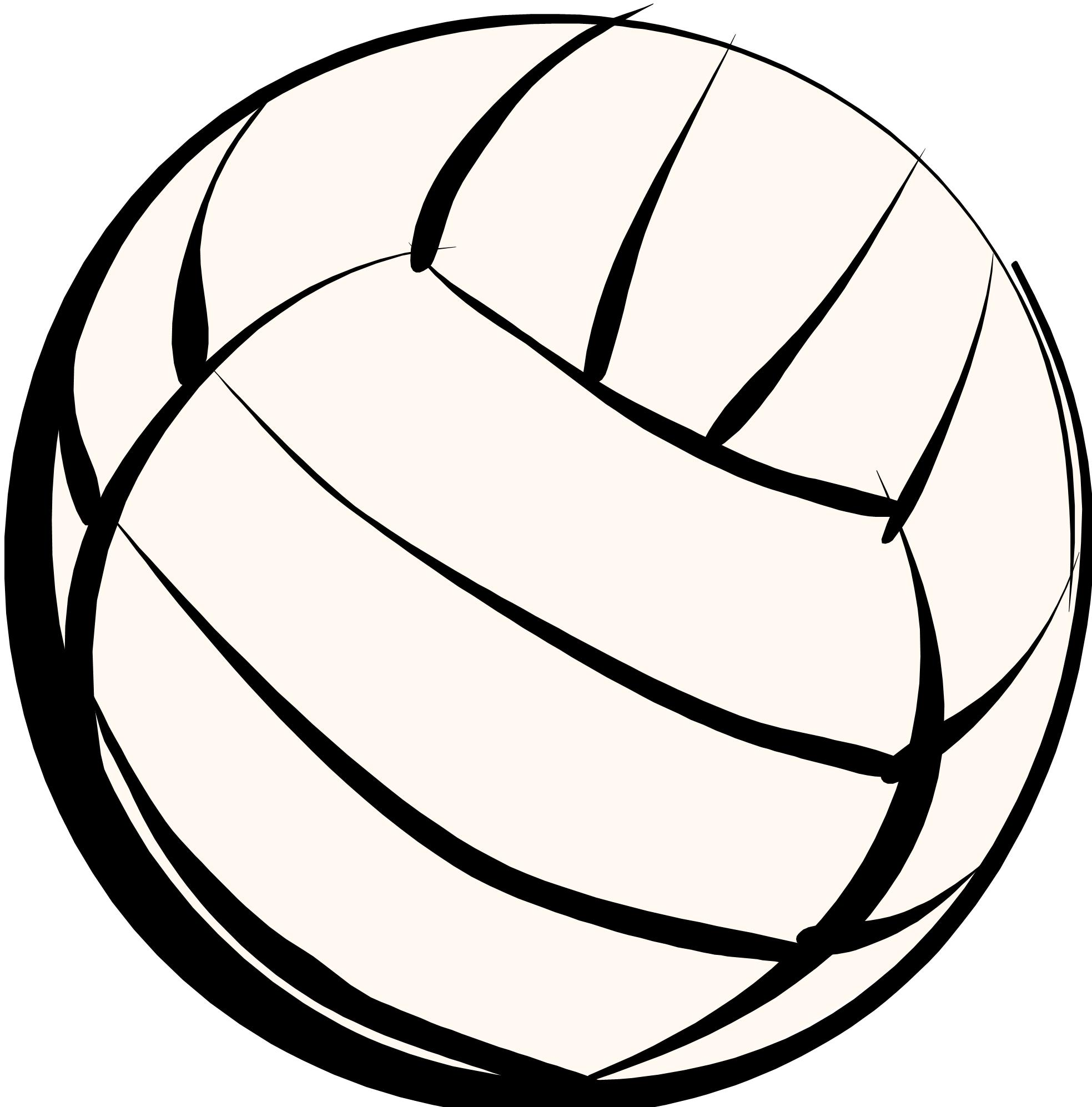 Volleyball Vector Art
