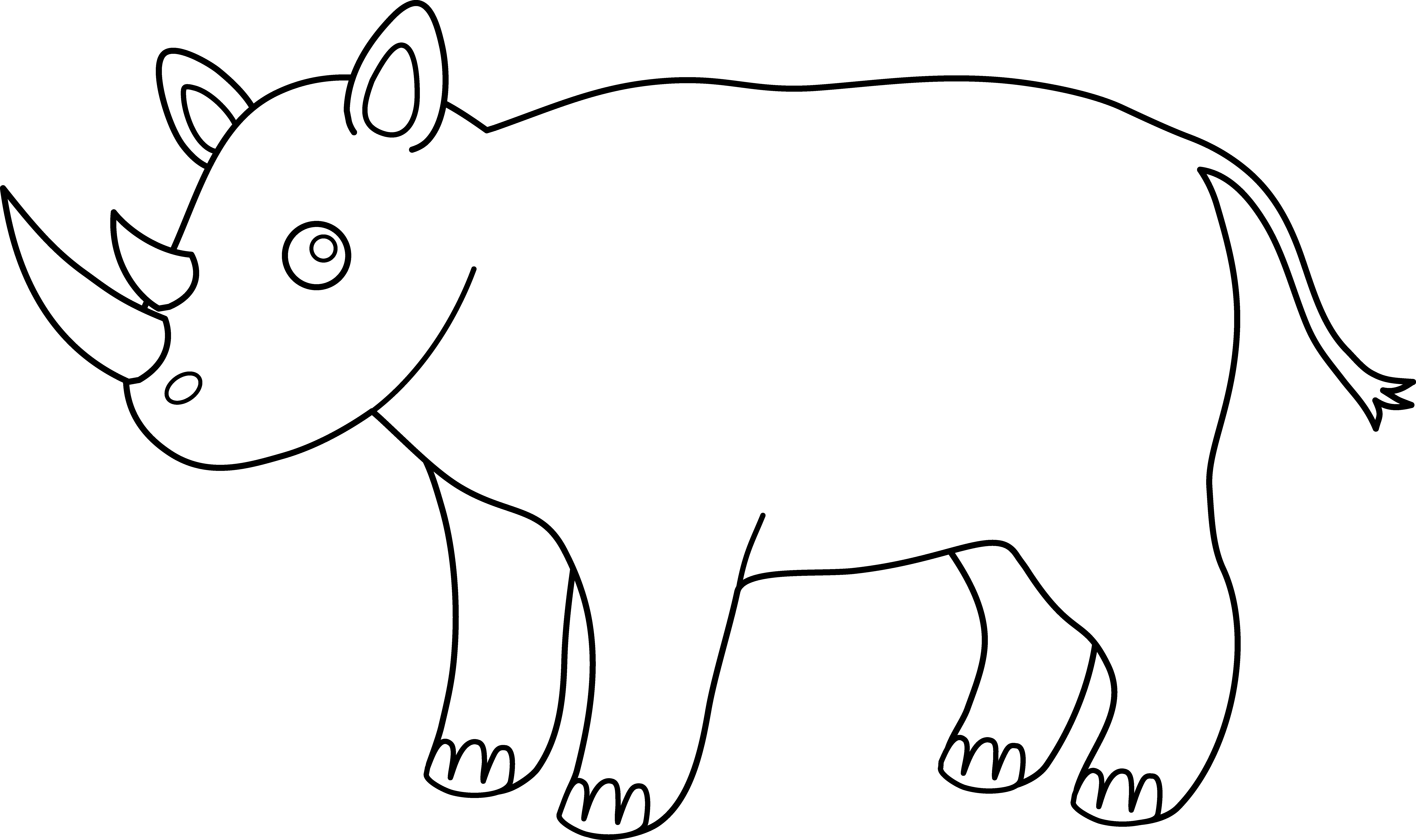 Free Animal Outline, Download Free Clip Art, Free Clip Art