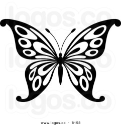 Free Simple Butterfly Black And White Download Free Clip Art Free Clip Art on Clipart Library