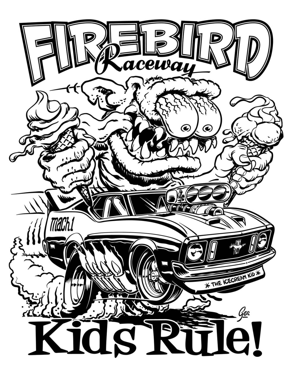 medium resolution of hot rod coloring pages drawing kids