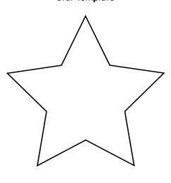 printable star outline clipart library [ 1275 x 1650 Pixel ]