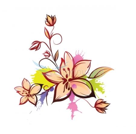 floral design clip art