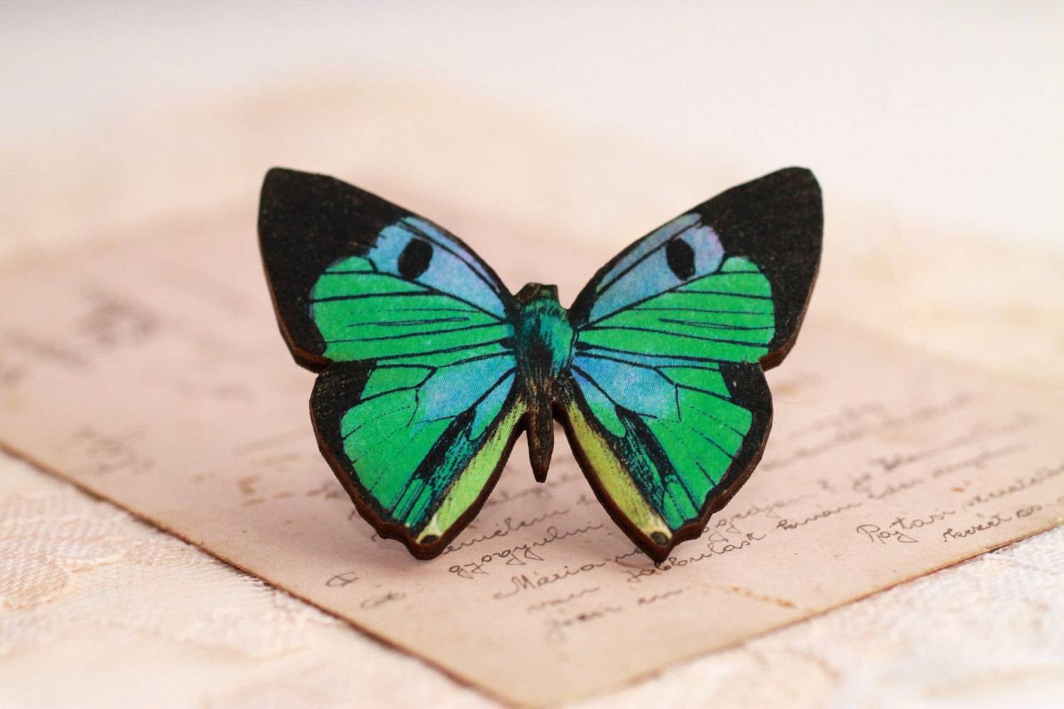 Free Fall Pumpkin Wallpaper Blue Green Butterfly Ring Large Butterfly Ring Butterfly