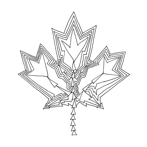 Free Maple Leaf Canada White Download Free Clip Art Free