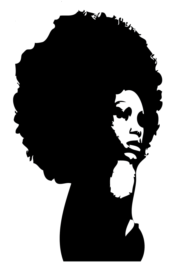 Free Silhouette Of A Black Woman Download Free Clip Art