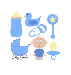 popular items for baby boy clipart on etsy [ 1500 x 1500 Pixel ]