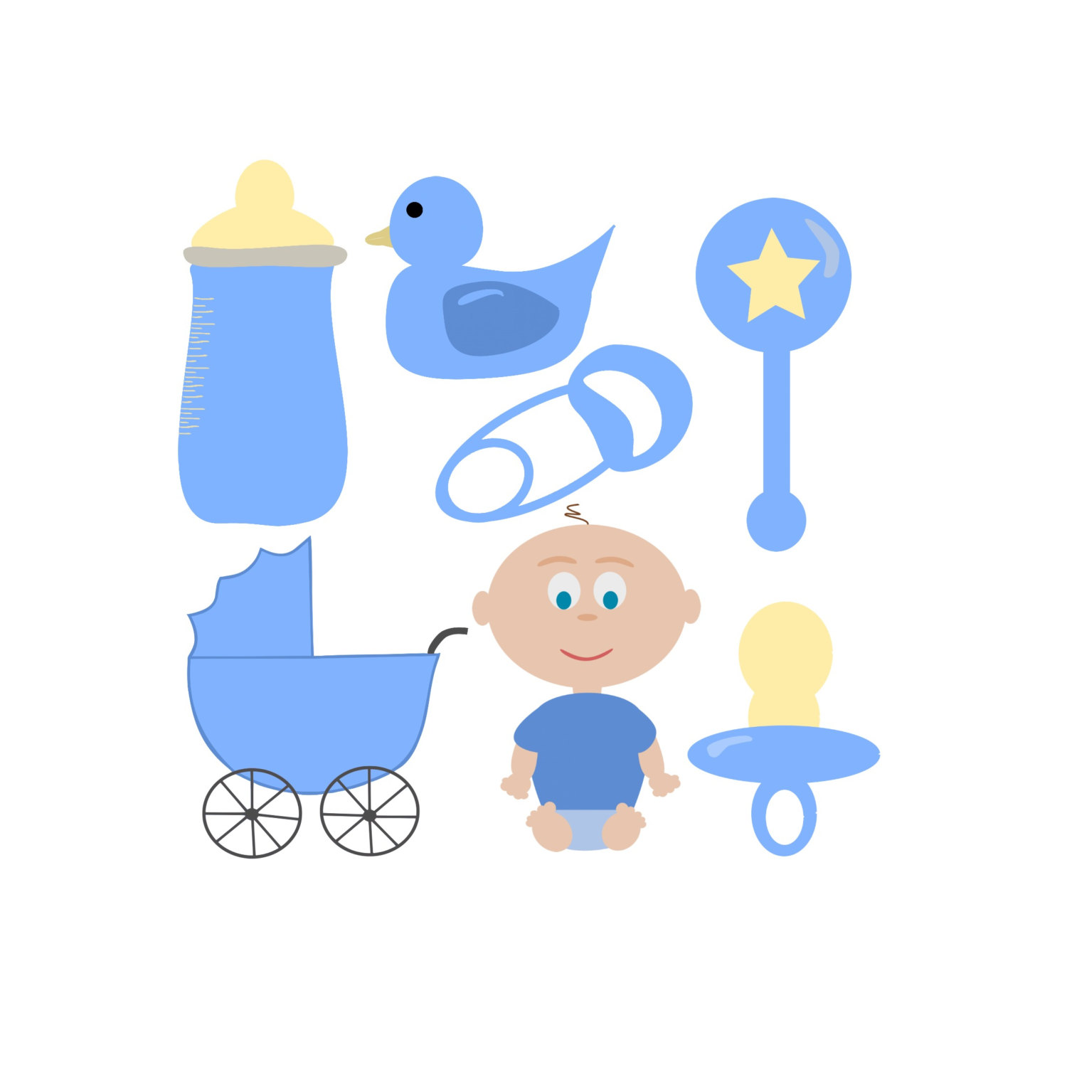 hight resolution of popular items for baby boy clipart on etsy