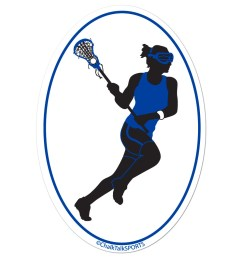 pix for girls lacrosse player silhouette [ 1050 x 1050 Pixel ]