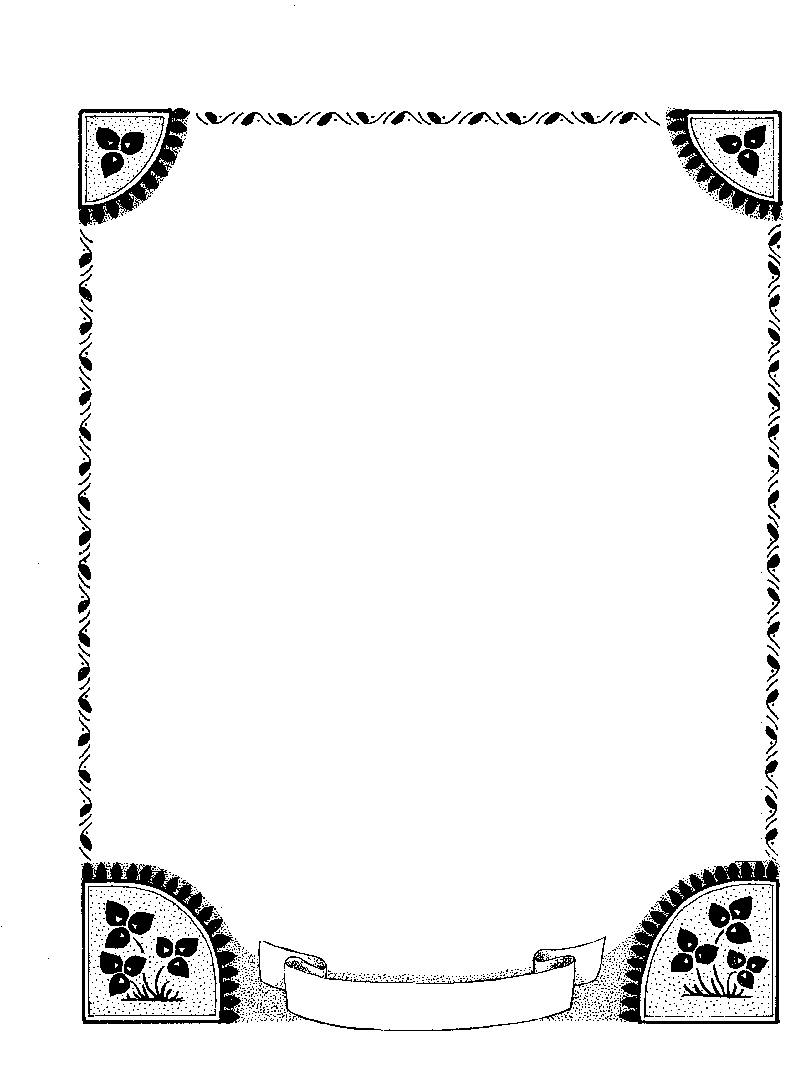 Free Simple Page Border Designs Download Free Clip Art