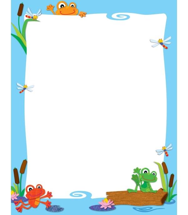 Free Frog Borders Clip Art