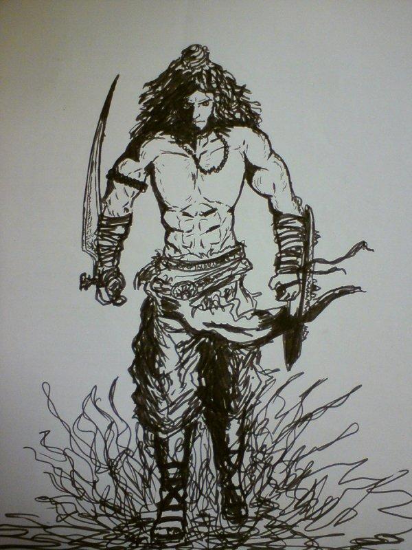 Lord Shiva Pencil Sketches