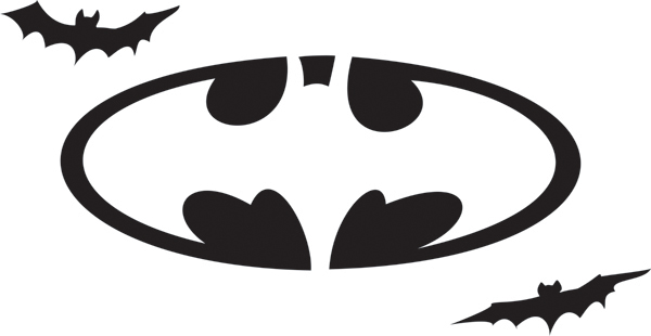 Free Batman Stencil, Download Free Clip Art, Free Clip Art