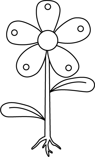 Free Unlabeled Flower Diagram, Download Free Clip Art