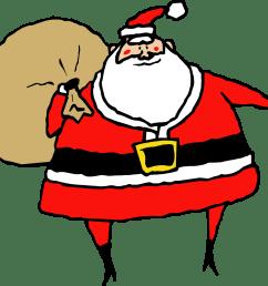 clip art santa claus 6 coloring book christmas clipart library [ 1331 x 1217 Pixel ]
