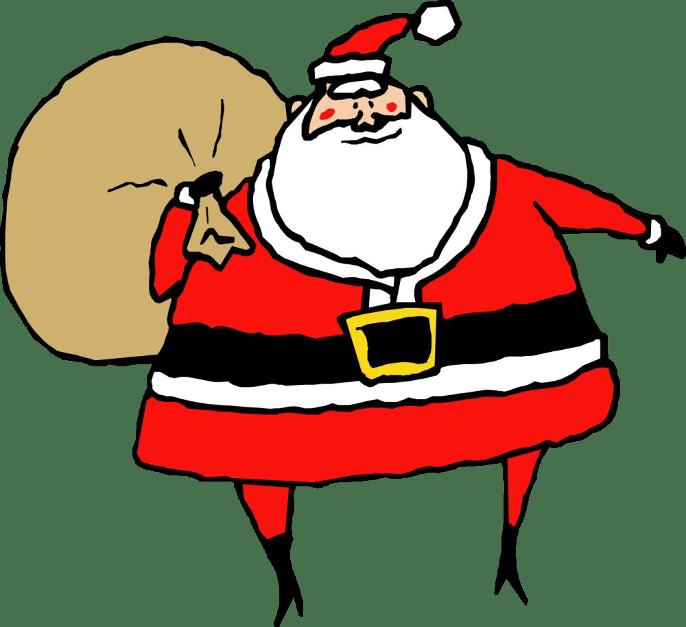 medium resolution of clip art santa claus 6 coloring book christmas clipart library