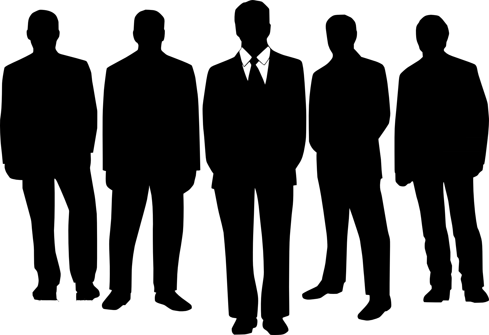 Free Man Silhouette Vector, Download Free Clip Art, Free