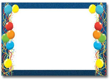 birthday borders microsoft