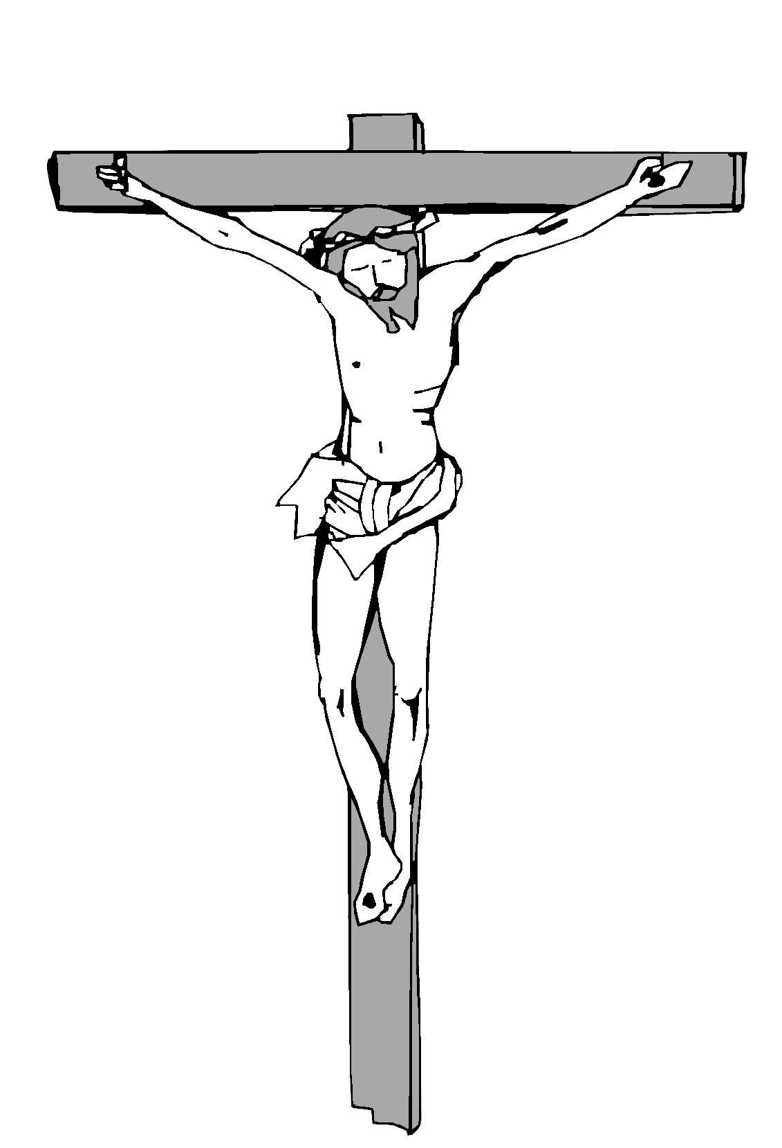 Free Jesus On The Cross Cartoon, Download Free Clip Art