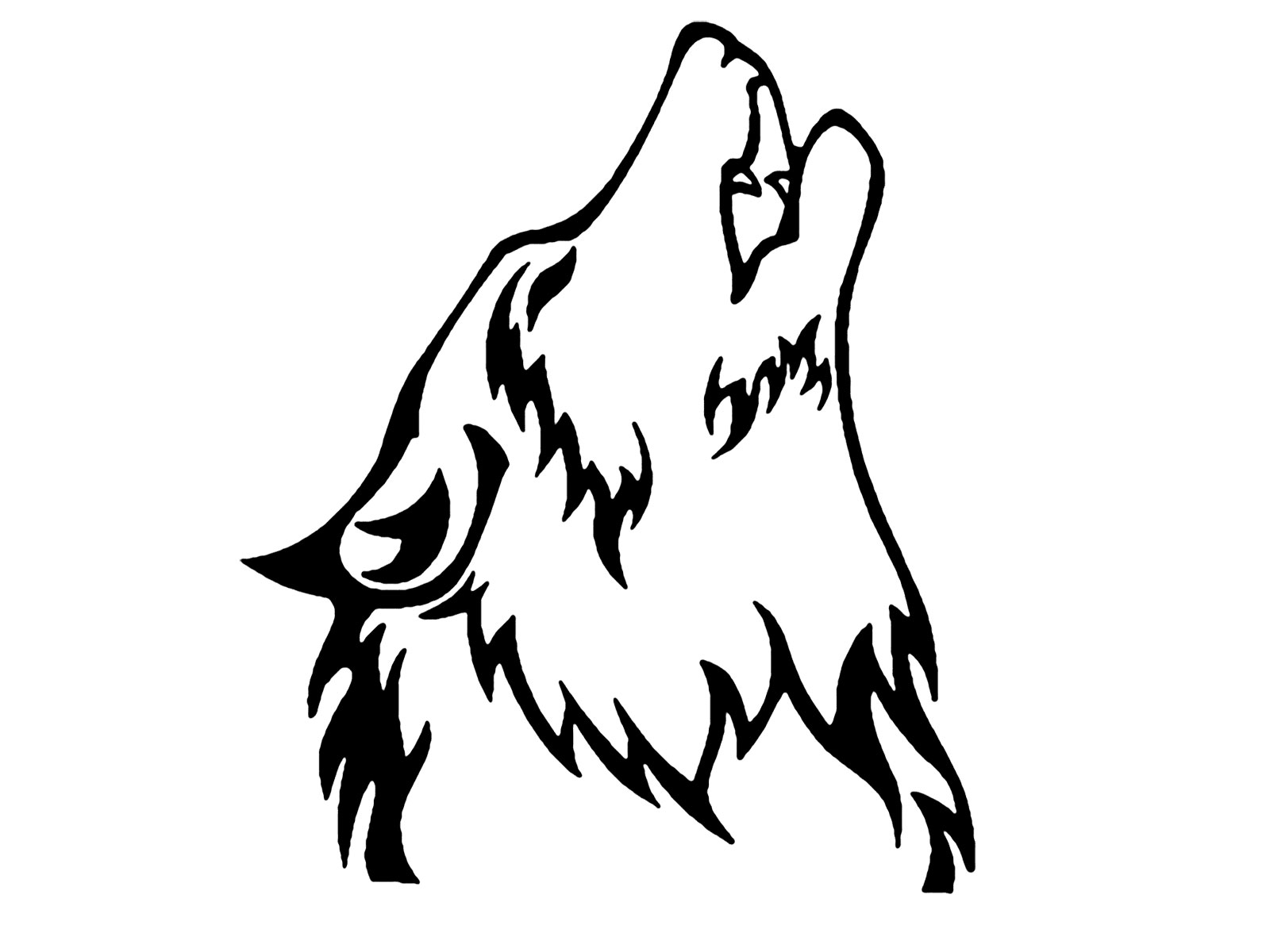 Free Howling Wolf Clipart, Download Free Clip Art, Free