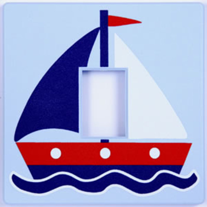 Sailing Boat Light Switch Cover