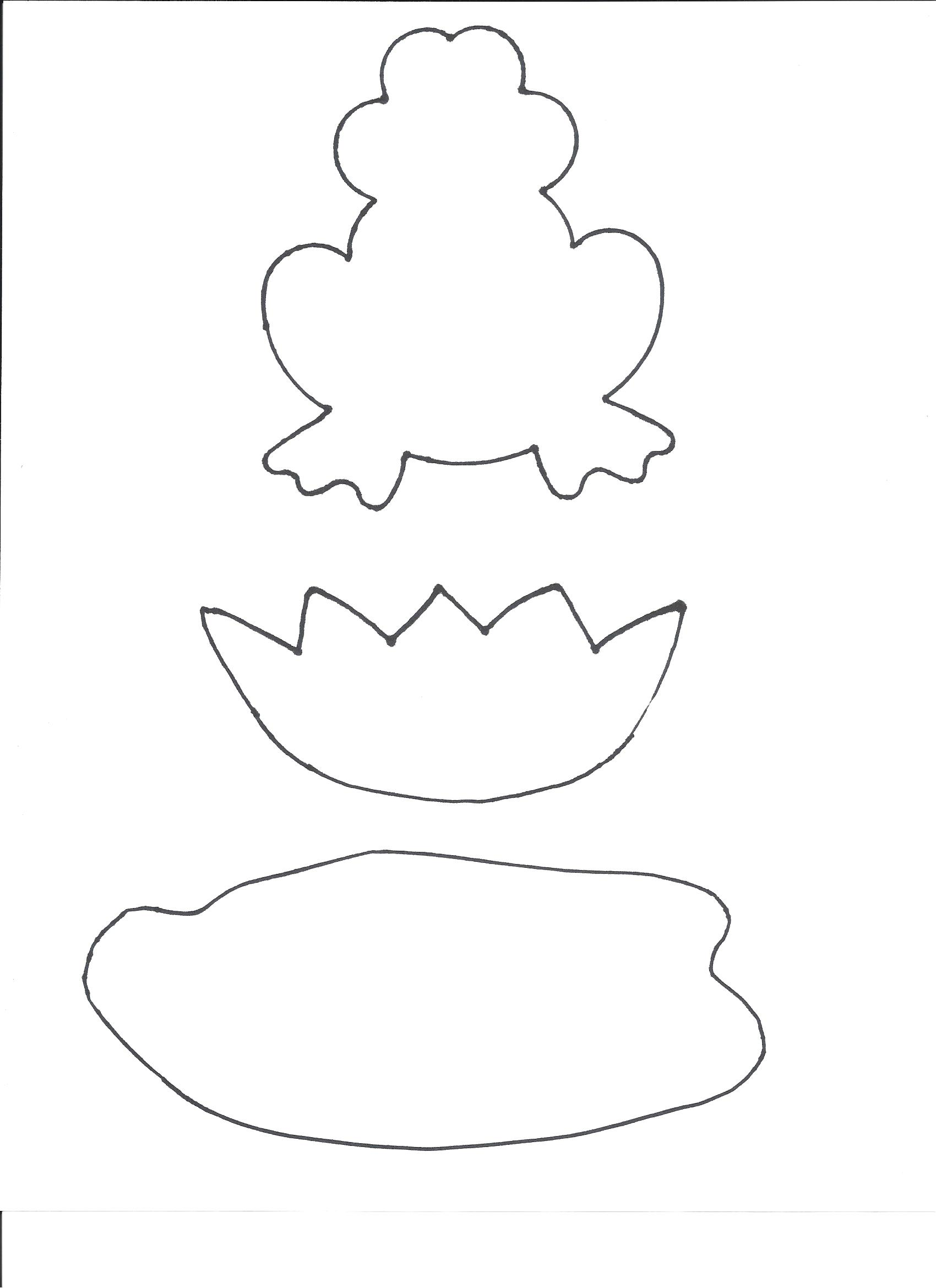 Free Lily Pad Template, Download Free Clip Art, Free Clip