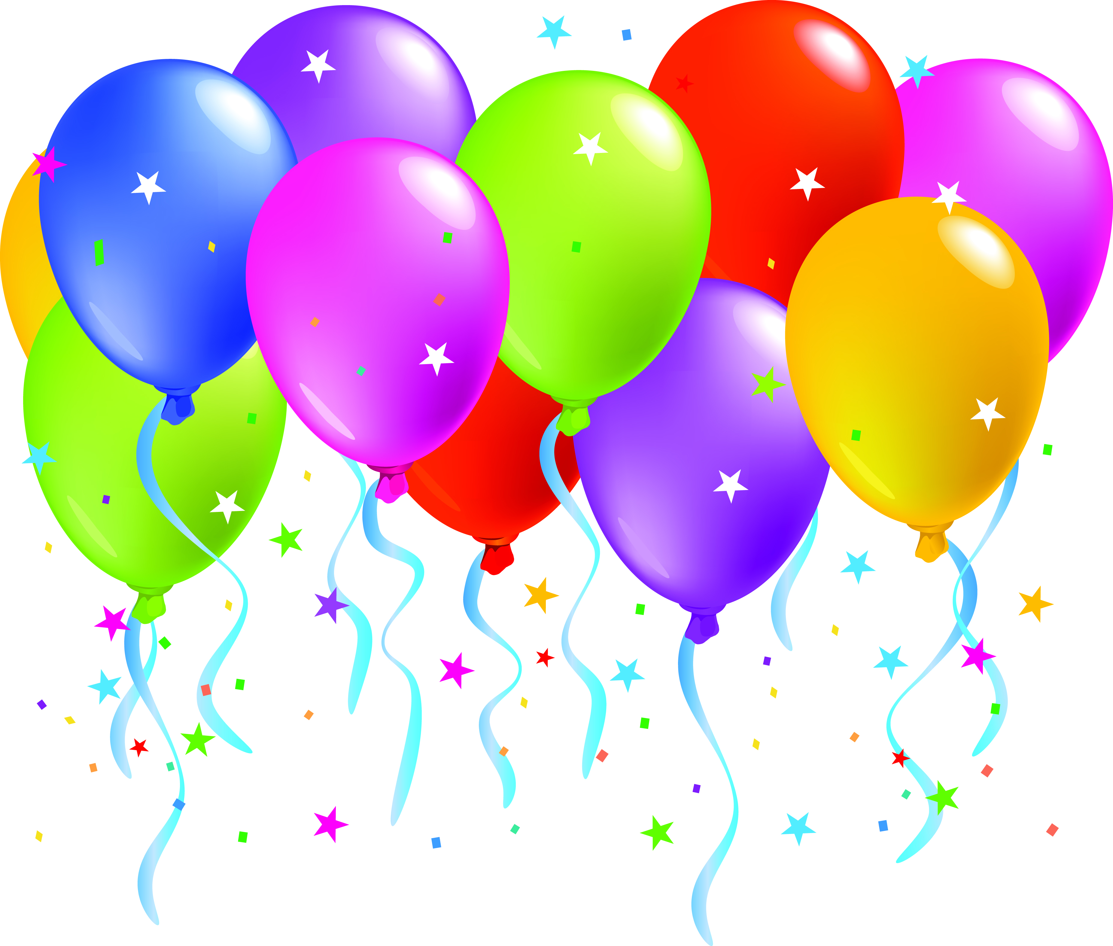 free birthday balloon images