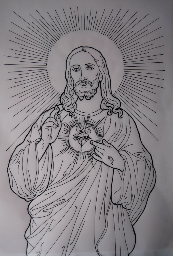 Free Jesus Drawing Clip Art