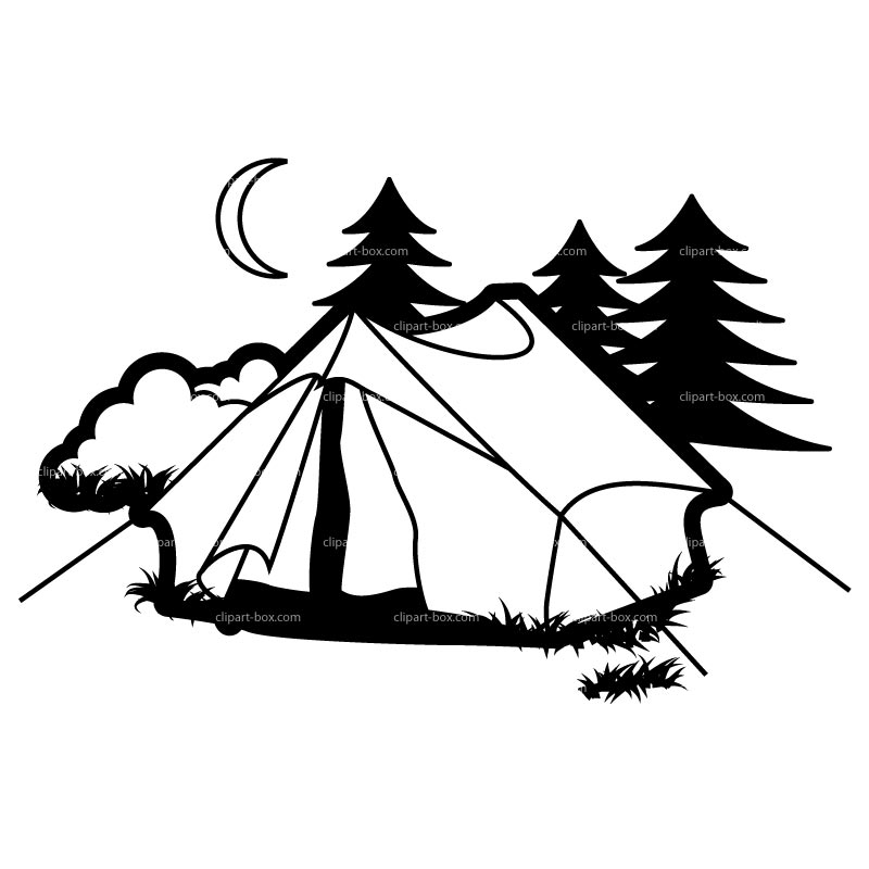 Free Camping Tent Clipart, Download Free Clip Art, Free