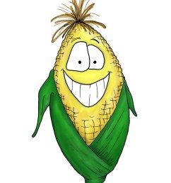 cartoon corn by bnspencer d z cz image vector clip art online [ 792 x 1008 Pixel ]