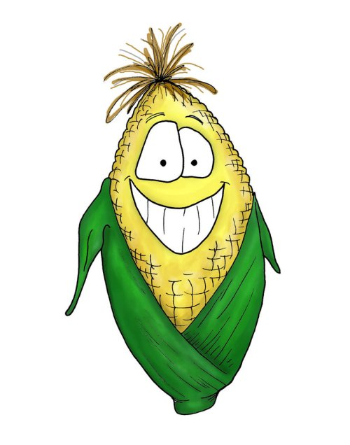 small resolution of cartoon corn by bnspencer d z cz image vector clip art online