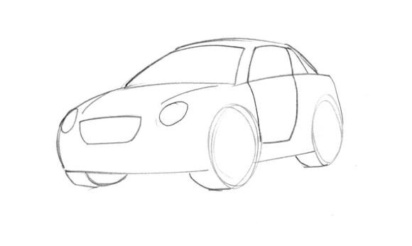 Free Cartoon Cars Drawing, Download Free Clip Art, Free ...