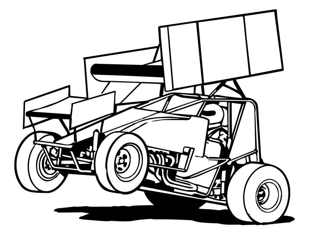 20 Race Car Clip Art Color Sheet Ideas And Designs