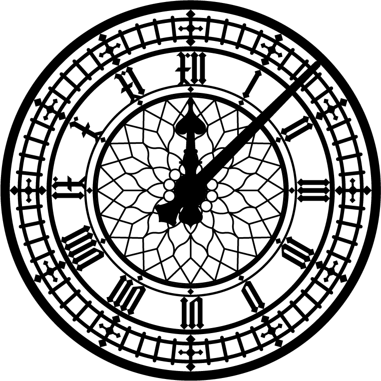 Ideas: Clock Face (for external mounting on house